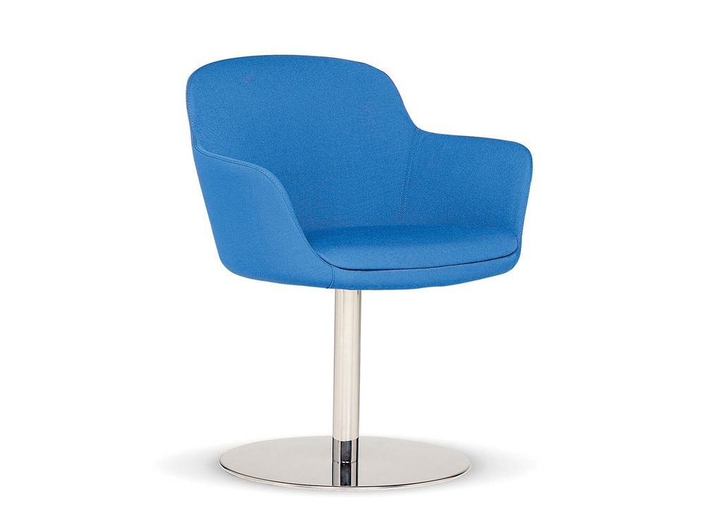 Norma Tub Chair with Disc Base