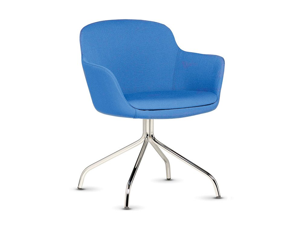 Norma Tub Chair with Spider Legged Base