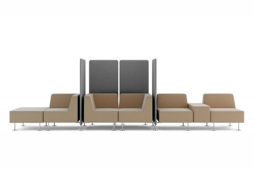 Wall-in Soft Seating