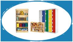 Preschool Primary School Storage Furniture Bookshelf Lockers and Cupboards Category TOP Image