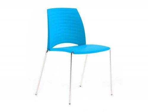 S2C Sand 4 Legged Chair in Cyan