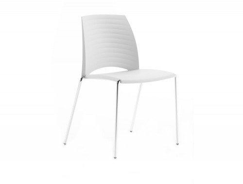 S2WS Sand 4 Legged Chair in White