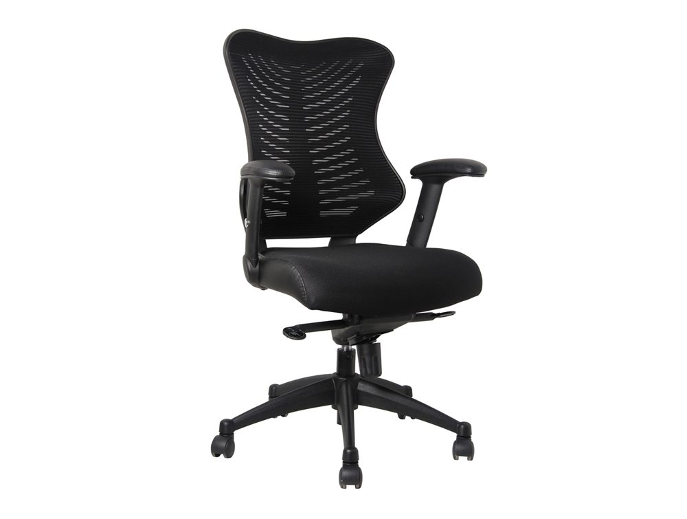 Delux Spine Task Chair in Black