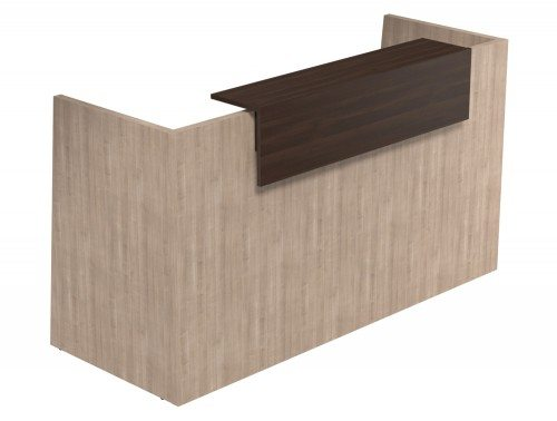 Sove Large Reception Unit - Model SV-92 MB-DW in Cherry Marbella