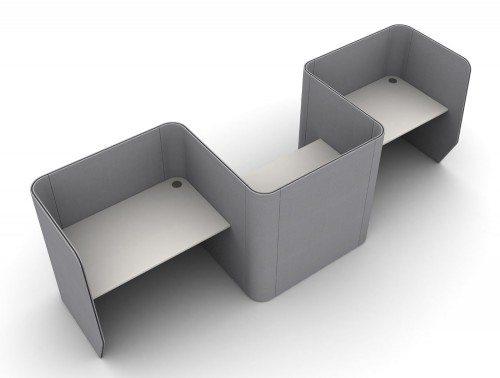 Zone 3-Person Desking Module