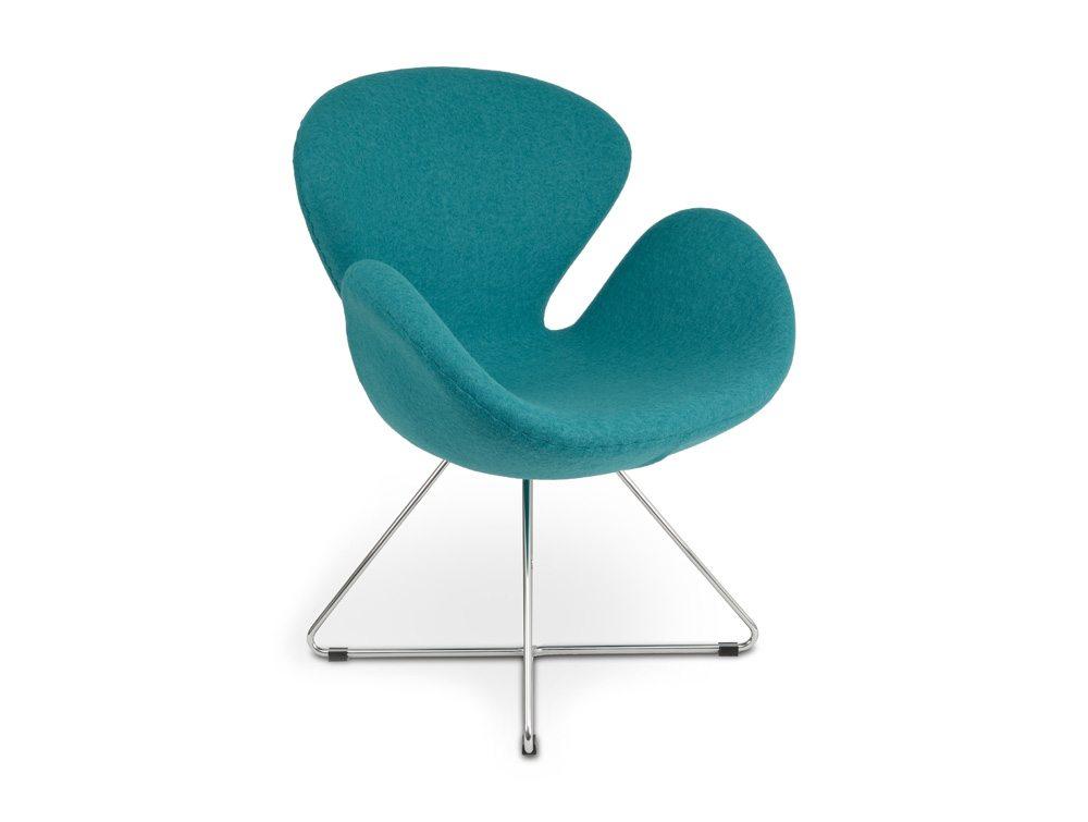 Emily Lounge Chair - Sled Base