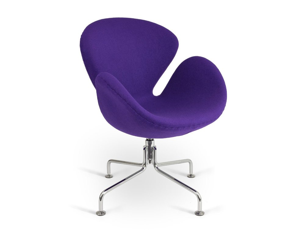 Emily Lounge Chair - Spider Legged Base