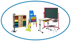 Top Image Classroom Furniture with Chair Black Board Bob Masha Desk Storage