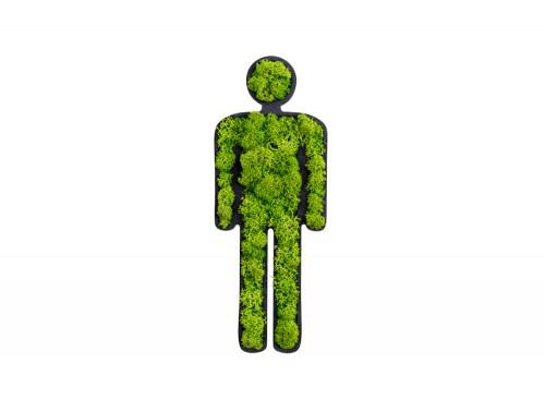 styleGreen-Pictogram-Green-Moss-Male-Toilet-Sign-with-Reindeer-Moss