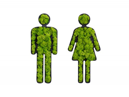 styleGreen-Pictogram-Green-Moss-Male-and-Female-Toilet-Signs-with-Reindeer-Moss