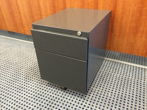Steelcase™ Twin drawer pedestal